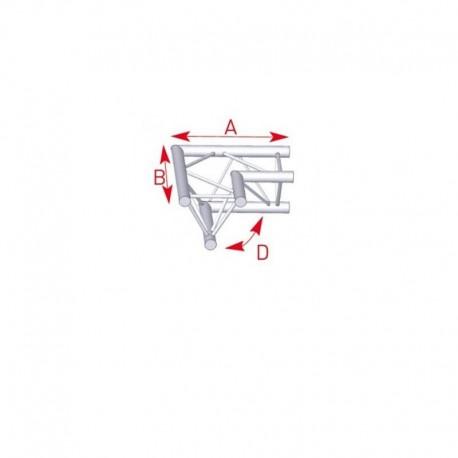 ASX22 2DEPAR HORIZ 90° A/B500 ASD