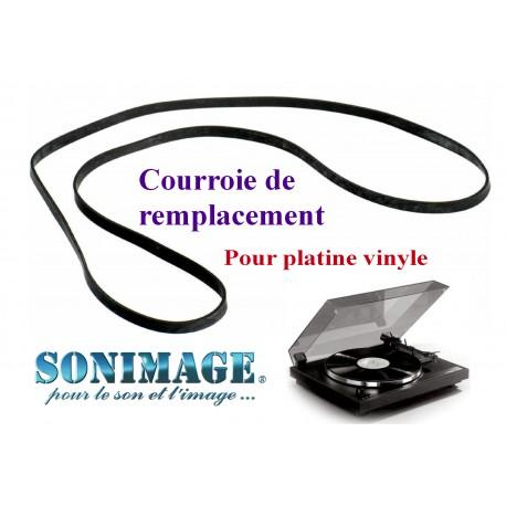 TECHNICS SL23AM : Courroie de remplacement compatible