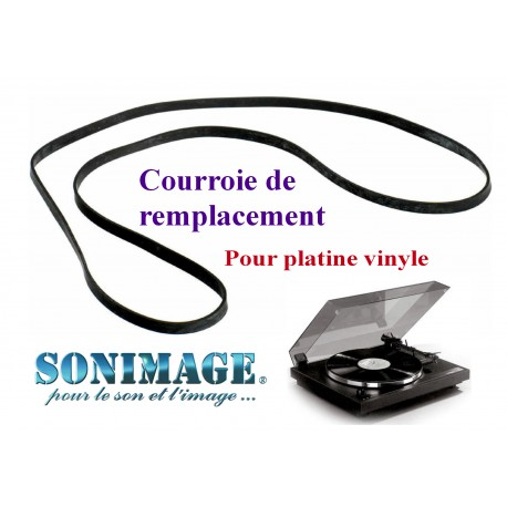 DUAL CS750 : Courroie de remplacement