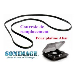 AKAI APM313 : Courroie de remplacement