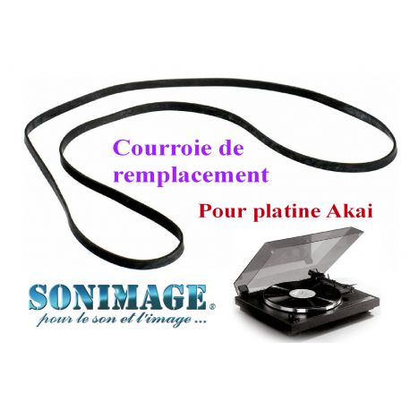 AKAI AC3800L : Courroie de remplacement