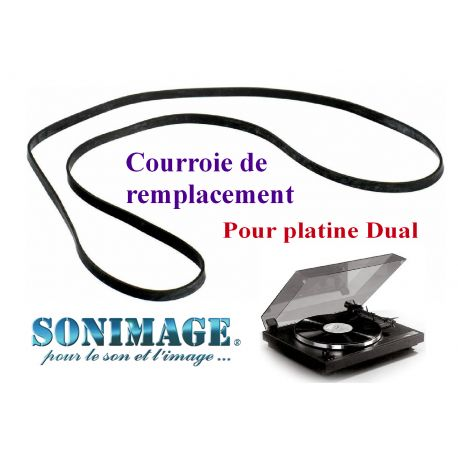 DUAL CS1257 : Courroie de remplacement