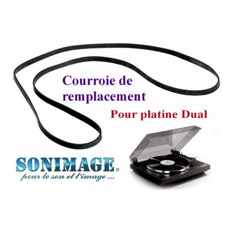 DUAL 601 : Courroie de remplacement