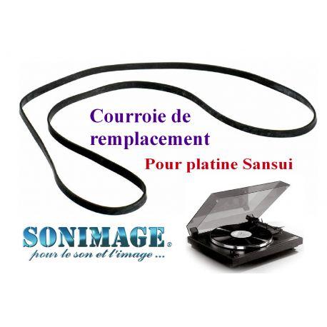 SANSUI SR-1050C : Courroie de remplacement