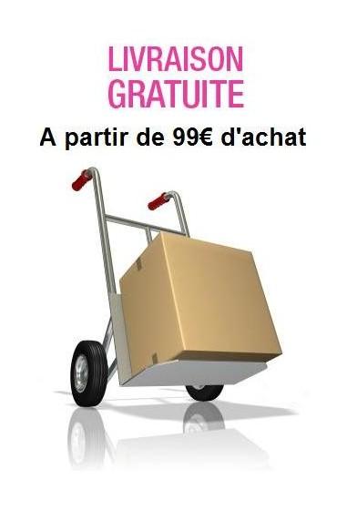 Port gratuit dès 99€ d'achat